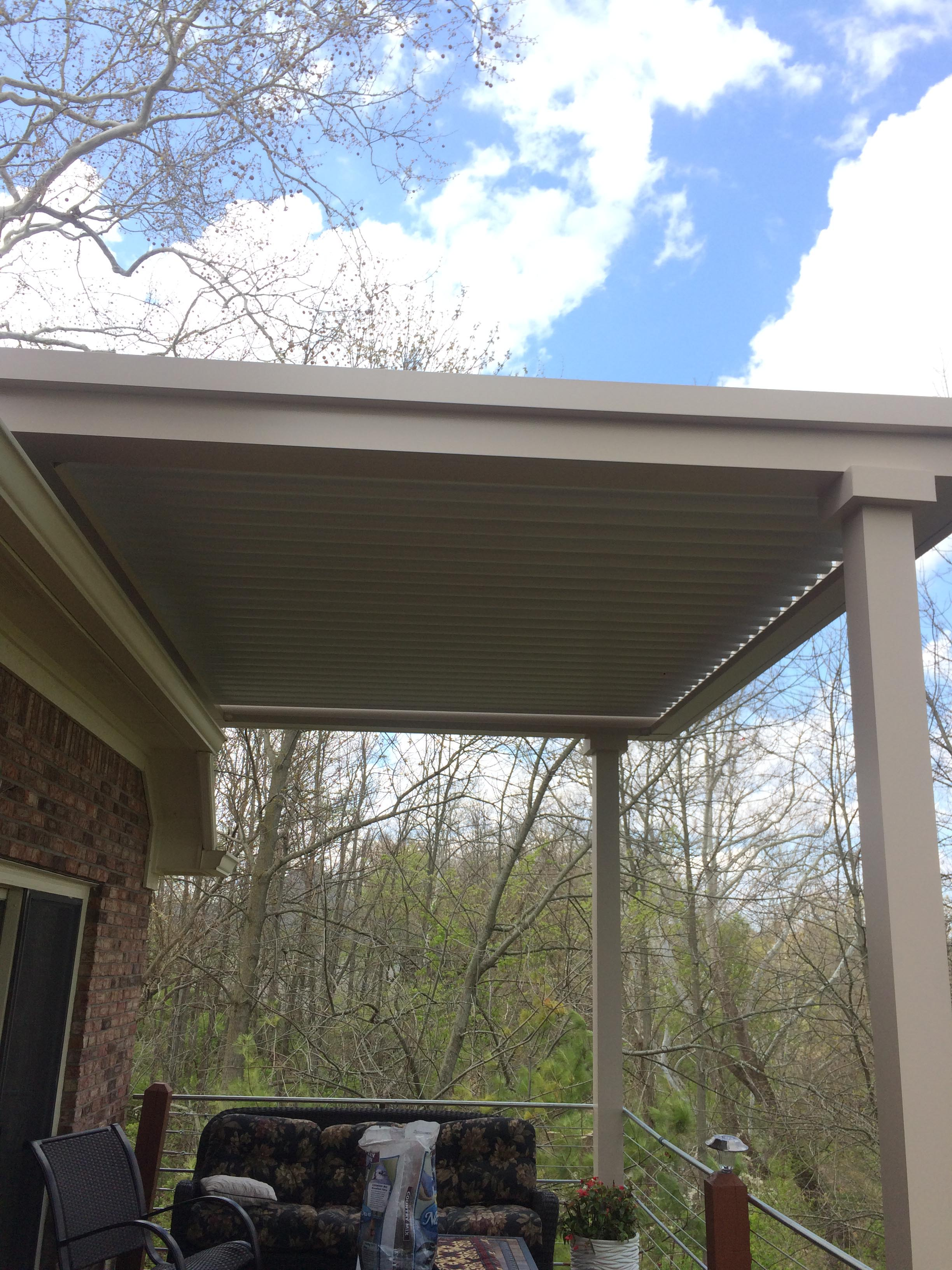 Brownsburgh, IN - Deck cover - roof mount