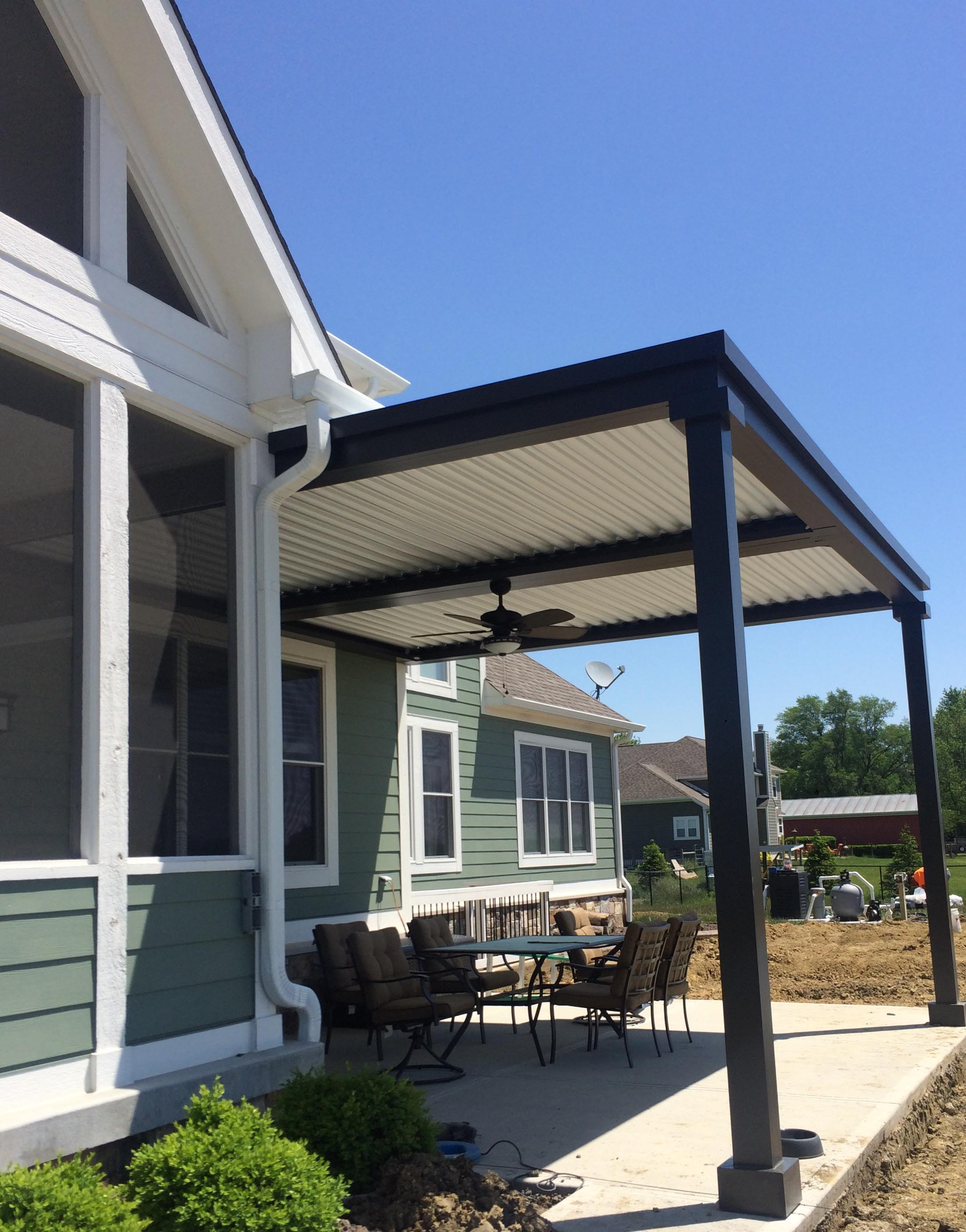 Pittsboro, IN - Deck cover - Attached