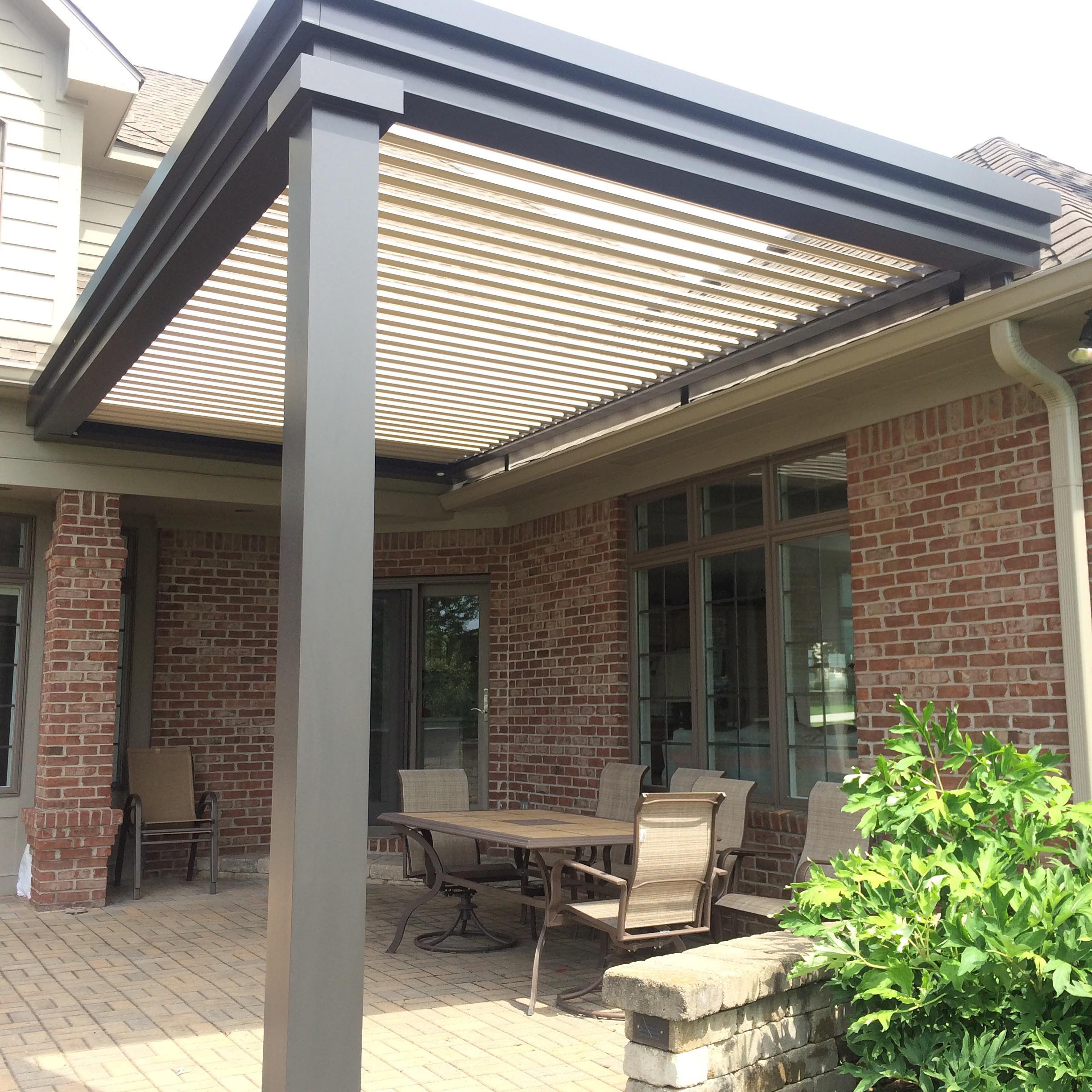 Crawfordsville, IN - Pario cover - Attached and roof mount