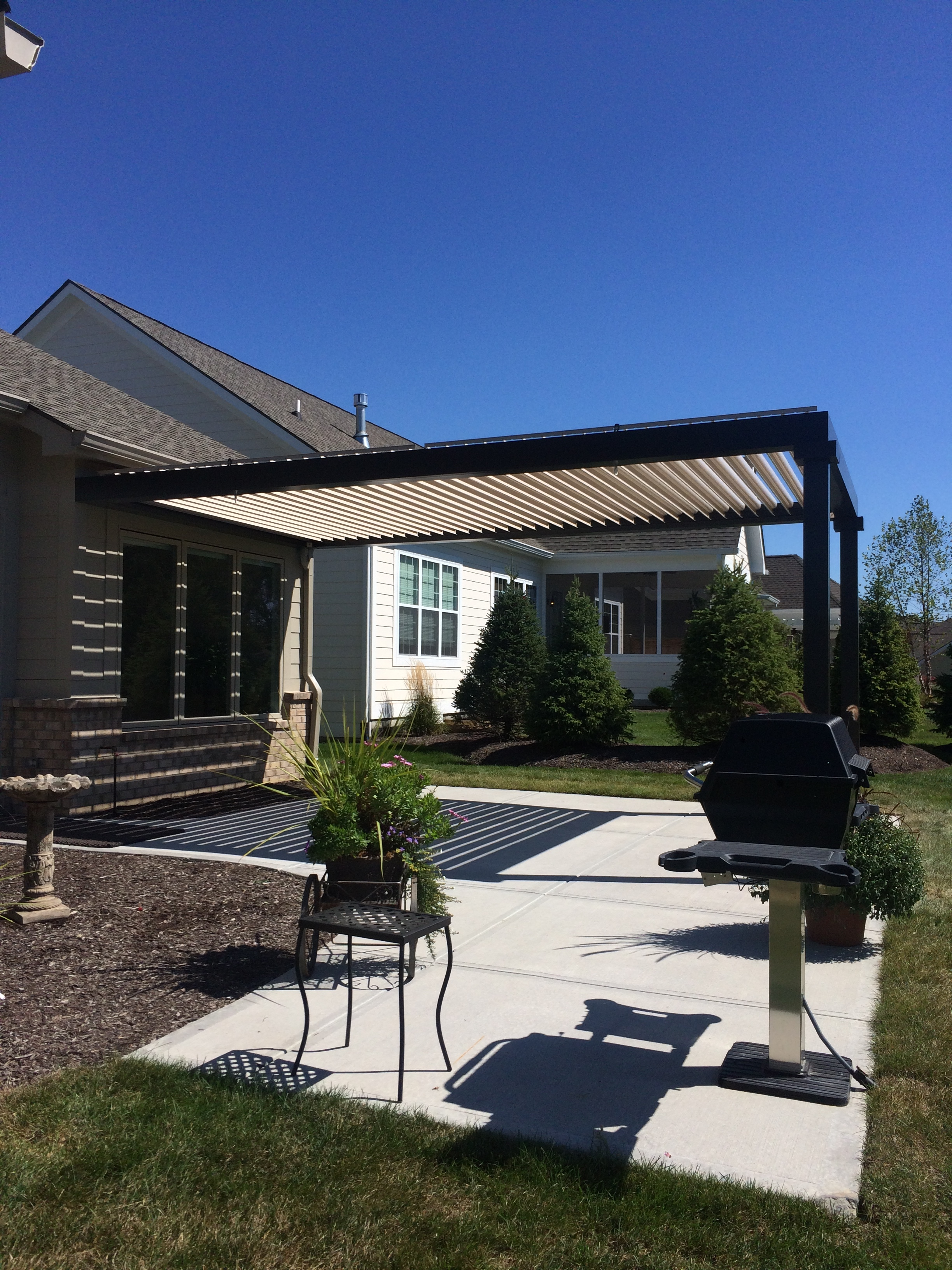 Zionsville, IN - Patio cover - Attached