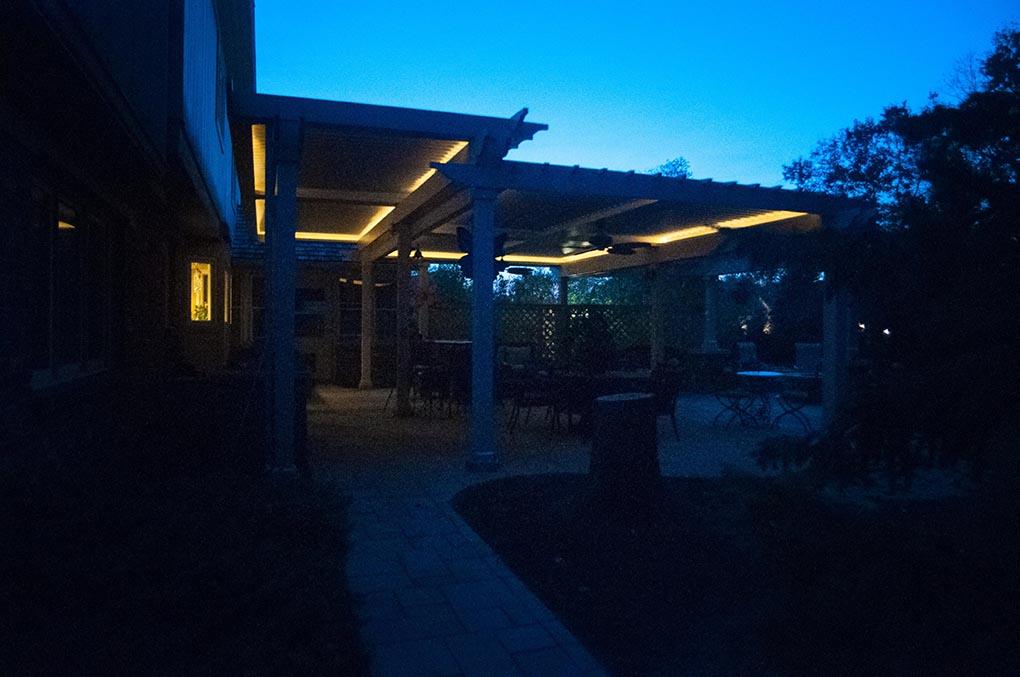 Carmel, IN.  Patio cover - retrofit - Free standing