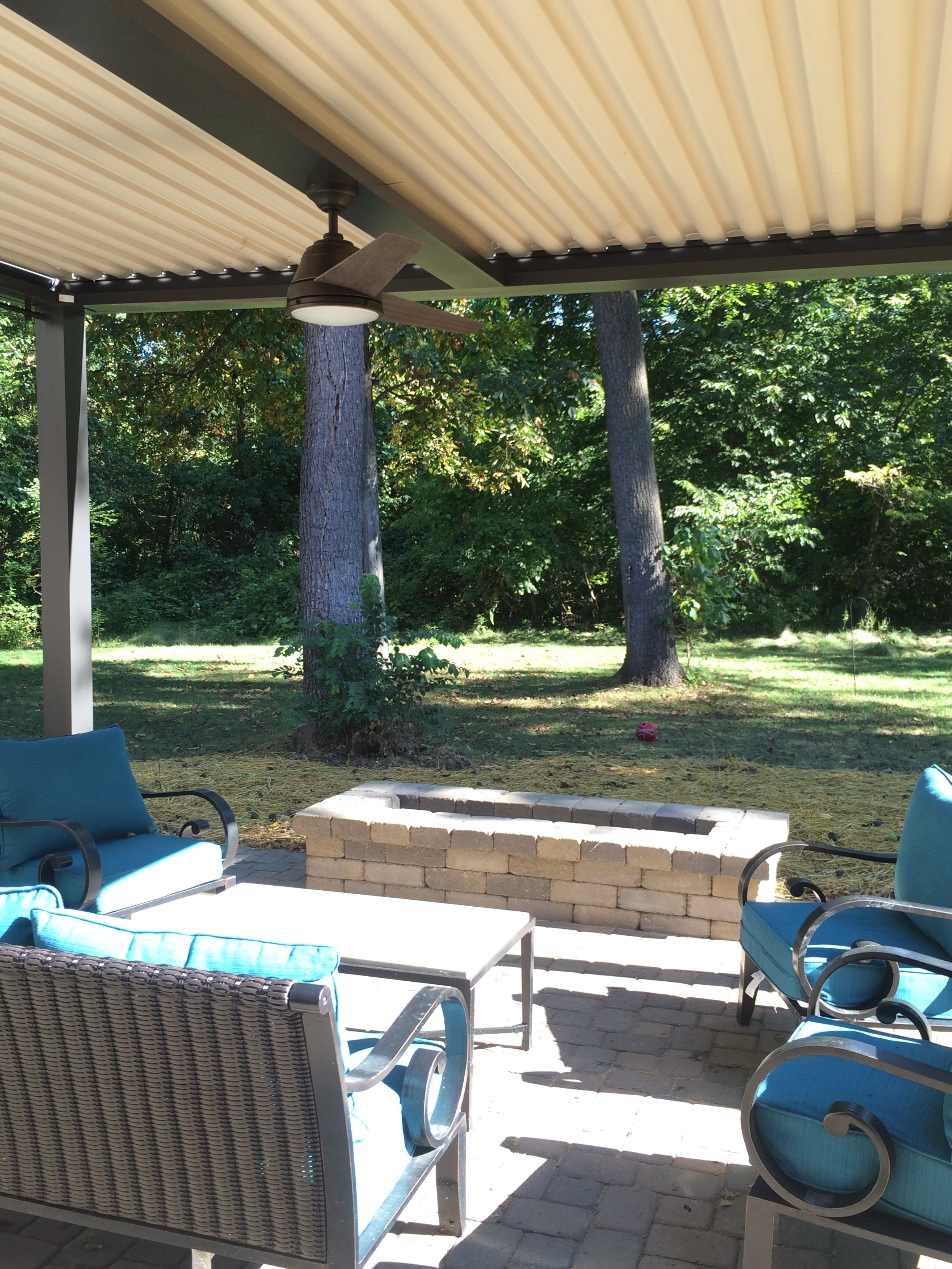 Carmel, IN - Patio cover - Free standing