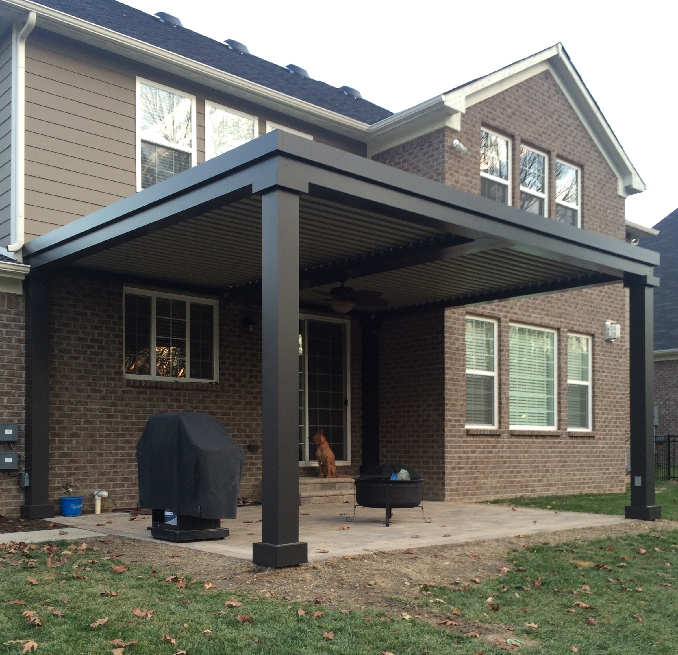 Zionsville, IN - Patio cover - Free standing