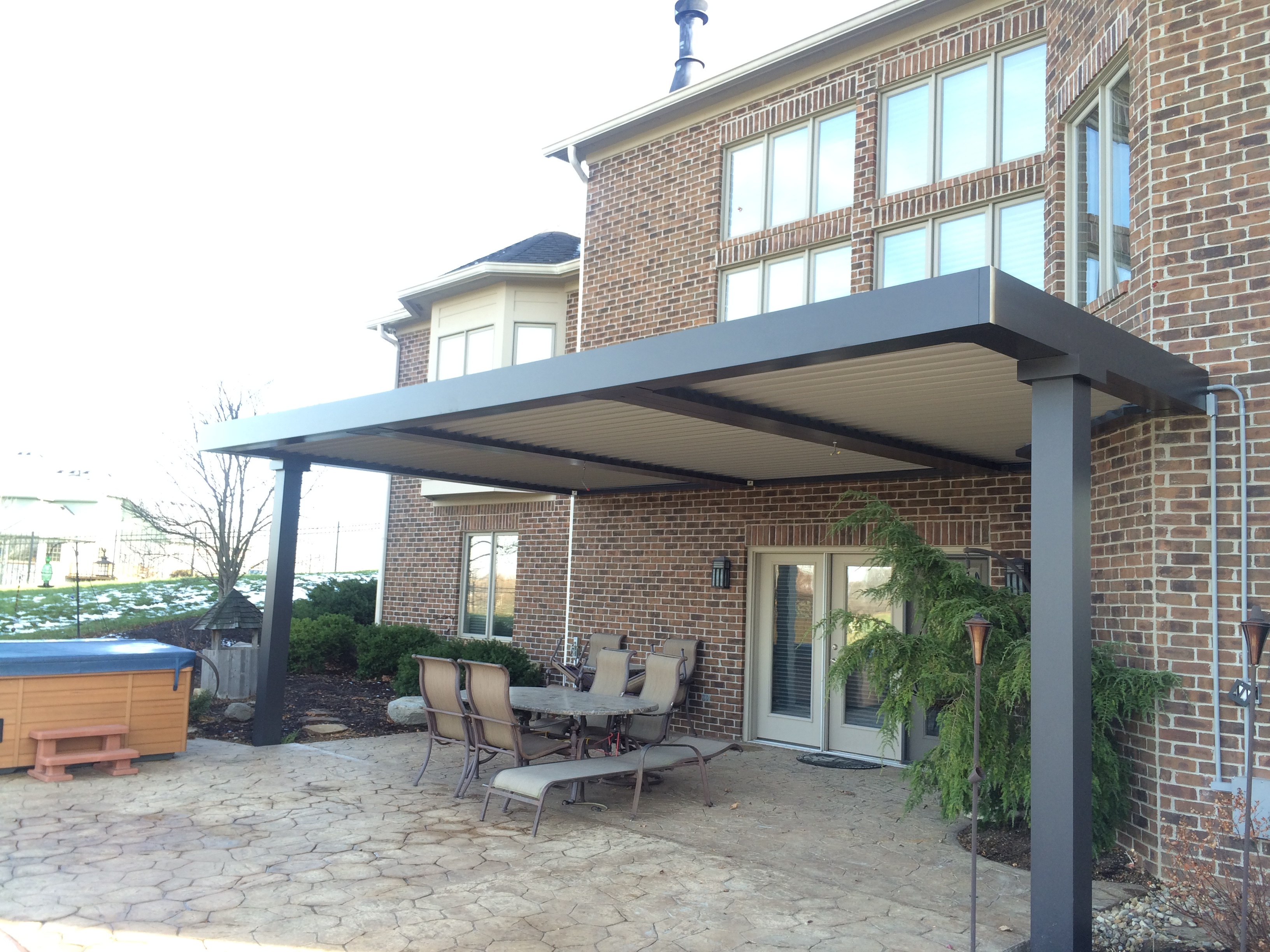 Westfield, IN - Patio cover - Attached