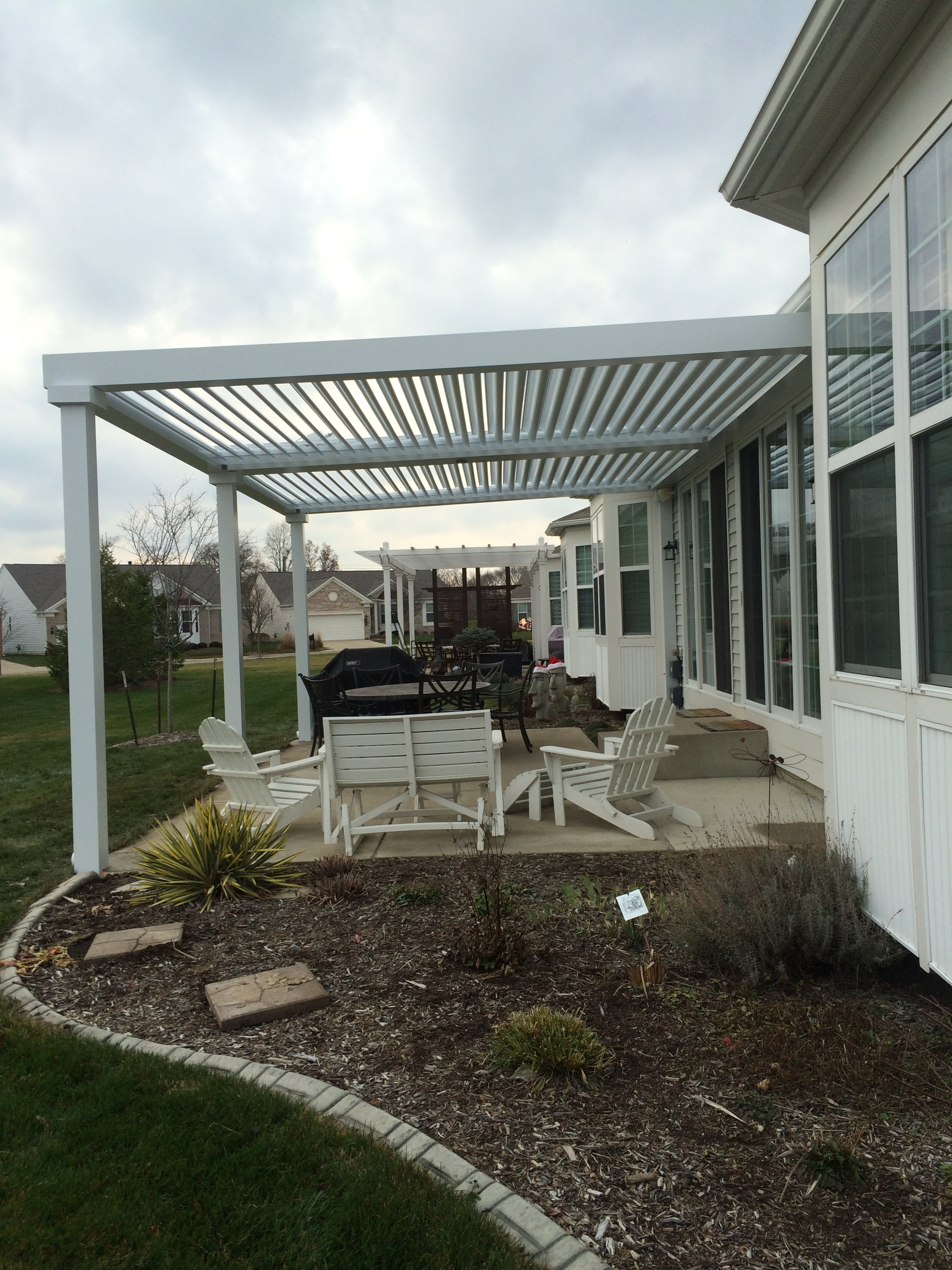 Fishers, IN - Patio cover - Free standing