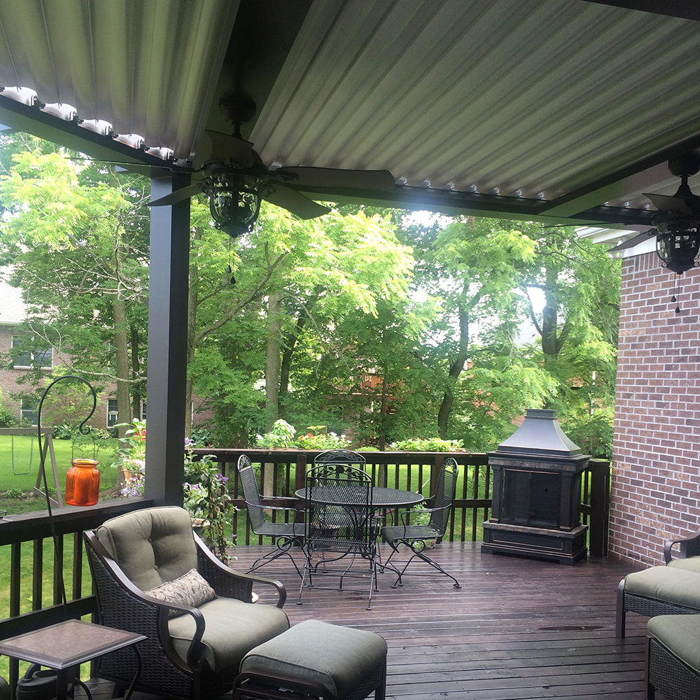Westfield, IN - Deck cover - Attached