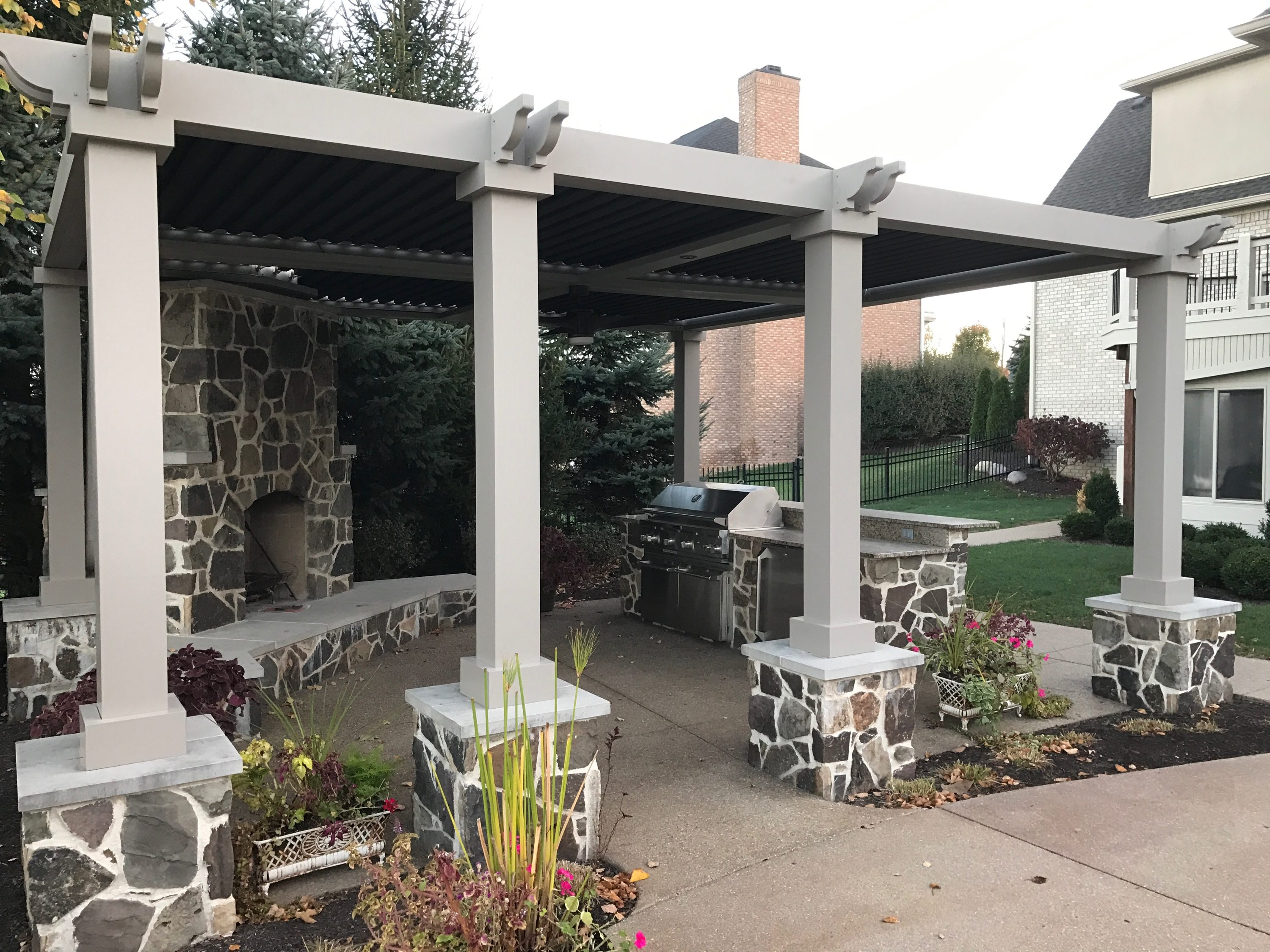 the smart pergola the perfect patio deck cover